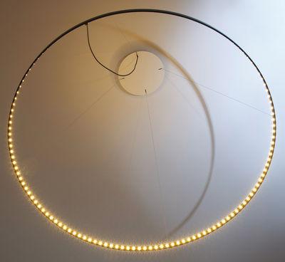 Leuchten - Pendelleuchten - Circle Pendelleuchte / LED - Ø 80 cm - Le Deun - Schwarz - Stahl