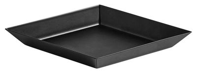 Plateau Kaleido XS / 19 x 11 cm - Hay noir en métal