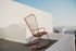 Paon Rocking chair - / Metal & bamboo by Houe