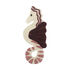Seahorse Rug - / Wall decoration - 34 x 86 cm by Ferm Living