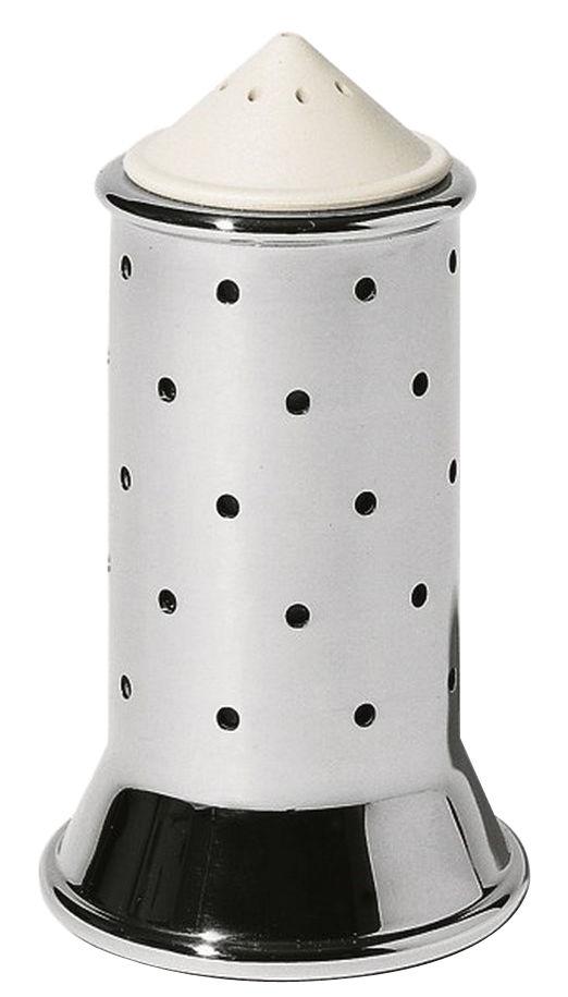 Egg Cups - Salt & Pepper Mills - Graves Salt shaker by Alessi - White - Polyamide, Stainless steel