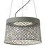 Sospensione Twiggy Grid LED Outdoor - / Ø 46 x H 29 cm di Foscarini