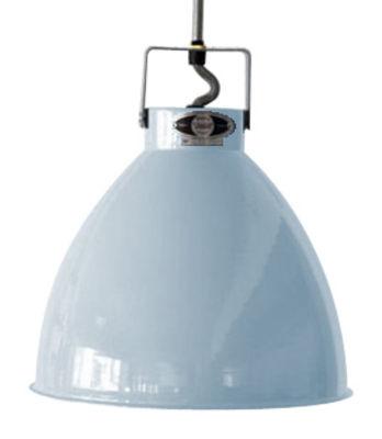 Suspension Augustin XL Ø 54 cm - Jieldé bleu pastel brillant en métal