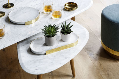 Table Basse Large Red Edition Blanc Bois Naturel Made In Design