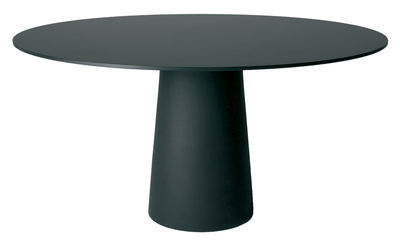 Outdoor - Garden Tables - Container Table top - Ø 160 cm by Moooi - Black top - Ø 160 cm - HPL