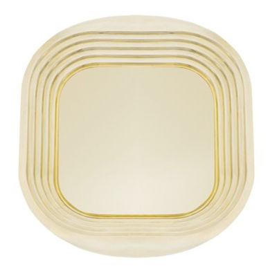Tischkultur - Tabletts - Form Tablett - Tom Dixon - Goldfarben - Messing