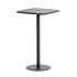 Tavolo bar alto Week-End - / 60 x 60 cm x H 105 cm di Petite Friture