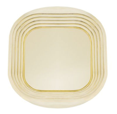 Tableware - Trays - Form Tray by Tom Dixon - Gold - Brass