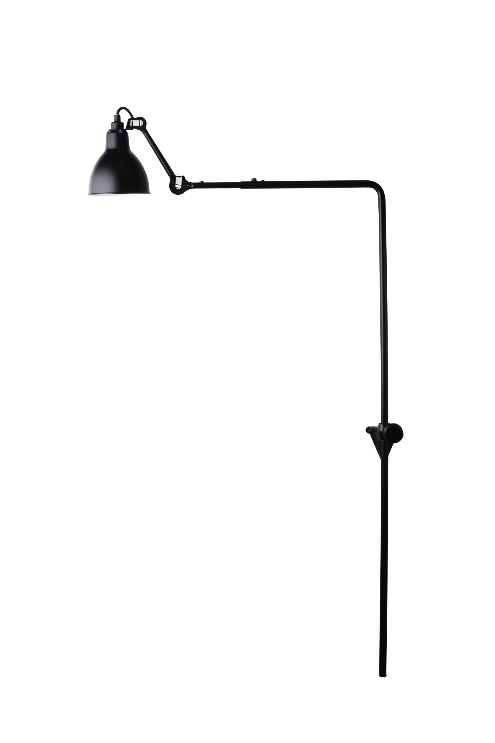 Lighting - Wall Lights - N°216 Wall light by DCW éditions - Black satin - Steel