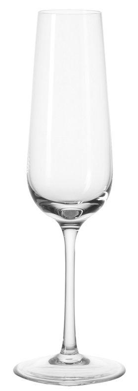 Tableware - Wine Glasses & Glassware - Tivoli Champagne glass by Leonardo - Transparent - Teqton glass