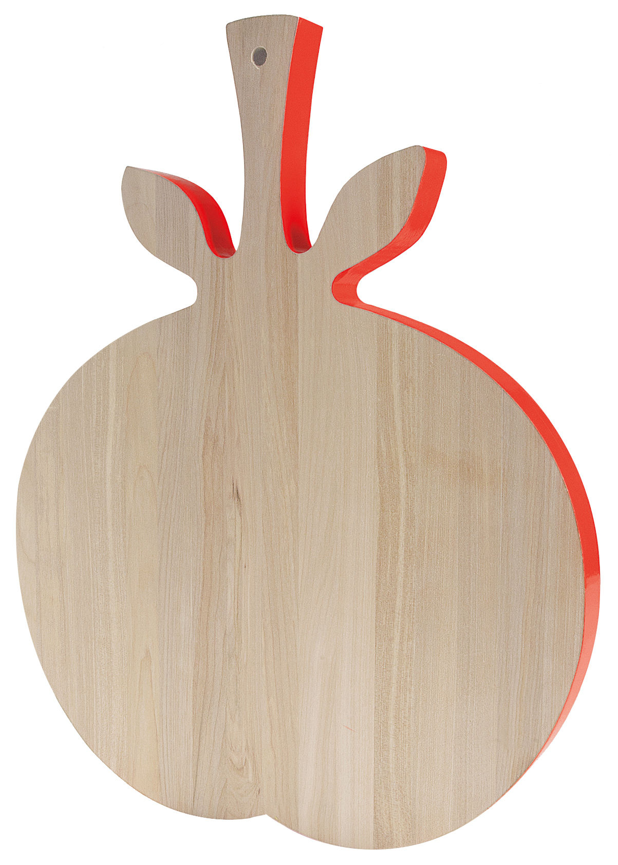 Kitchenware - Kitchen Equipment - Vege-Table Chopping board by Seletti - Tomato / Red - Birch
