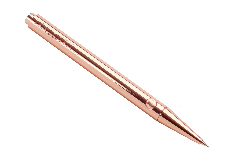 Accessoires - Bloc-notes, cahiers et stylos - Crayon à mine Cube / Rechargeable - Tom Dixon - Cuivre - Alliage de zinc plaqué cuivre