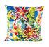 Cuscino Toiletpaper - / Fiori con fori - 50 x 50 cm di Seletti