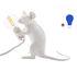 Lampe de table Mouse Sitting #2 / Souris assise - Exclusivité - Seletti