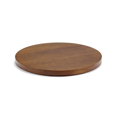 Tableware - Plates - Dishes to Dishes - Large Lid - / Ø 26.6 cm - Acacia by valerie objects - Large / Acacia - Acacia wood
