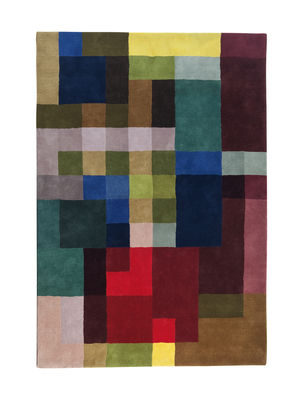 Decoration - Rugs - Mondrianesque 2 Rug - / Exclusivity - 170 x 240 cm by Nanimarquina - 170 x 240 cm / Multicolored - New-zealand wool
