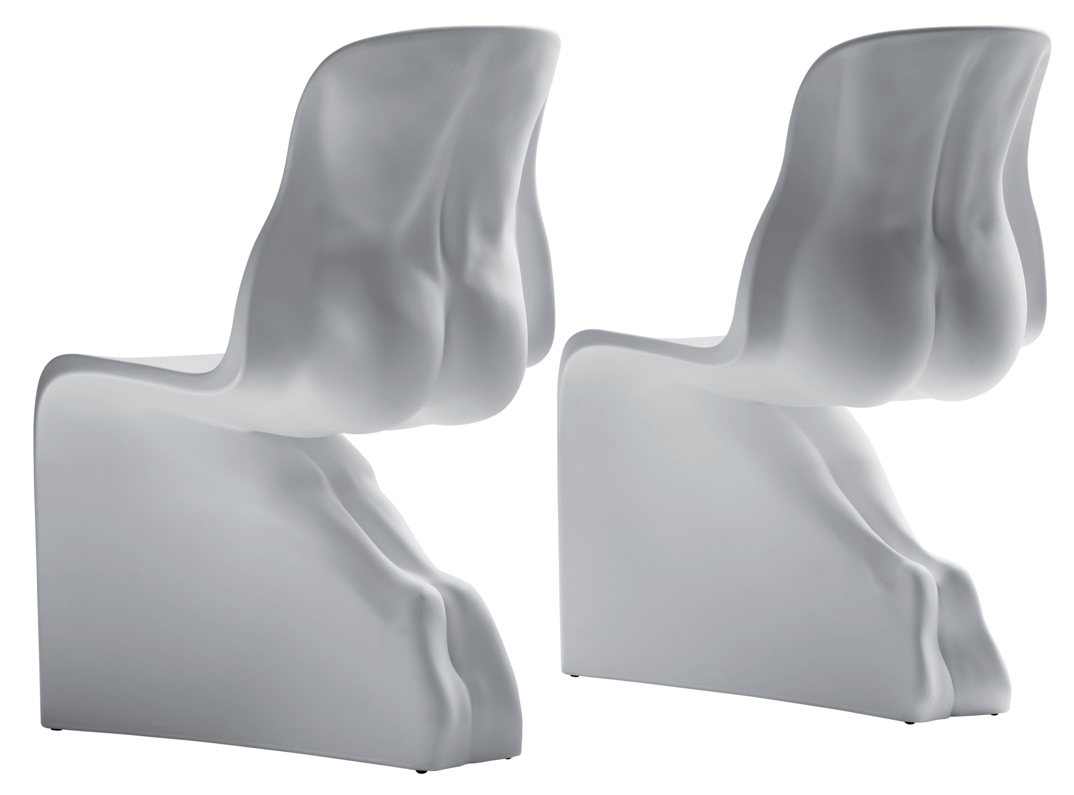 Sedia Panton Trasparente : Her sedia bianco by casamania made in design