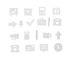Symboles Office Set / für Memo-Board - Design Letters