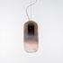 Suspension Gople / Verre - H 42 cm - Artemide