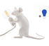 Mouse Sitting #2 Table lamp - / Sitting mouse - Exclusive by Seletti