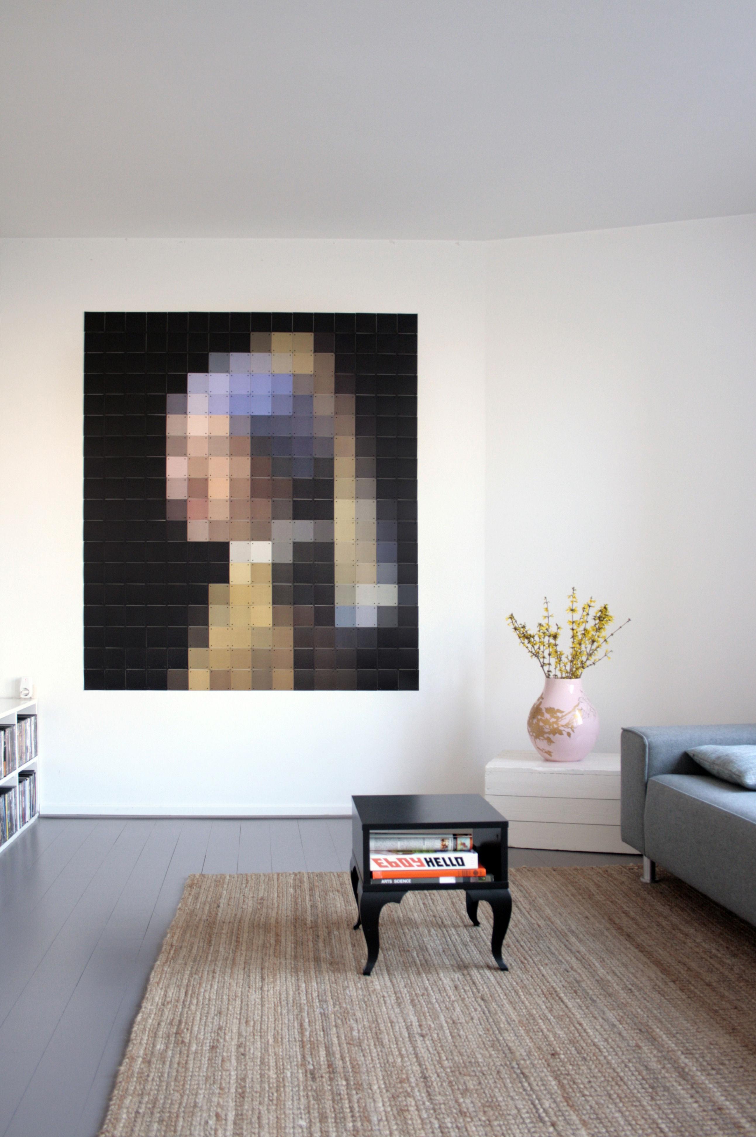 tableau la jeune fille la perle ixxi 160 x 180 cm. Black Bedroom Furniture Sets. Home Design Ideas