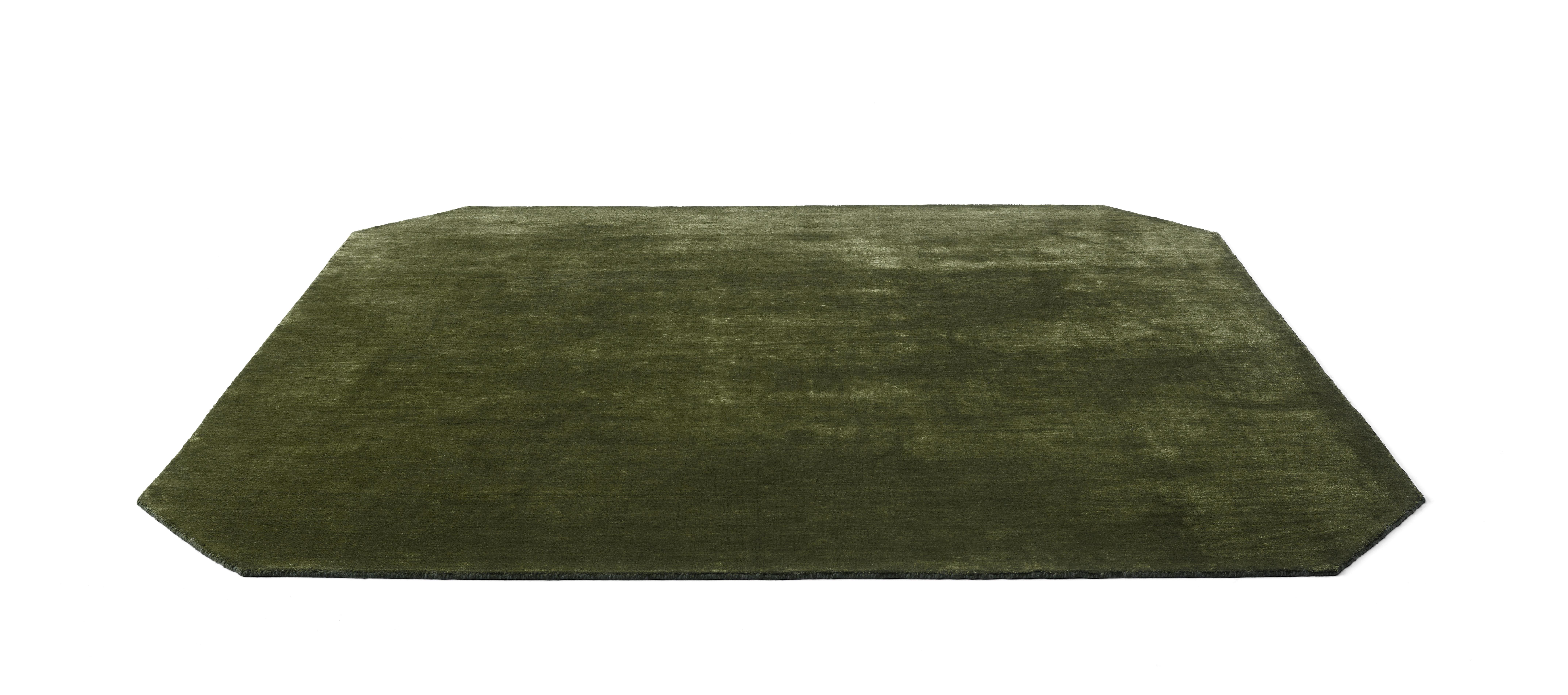 Déco - Tapis - Tapis The Moor AP6 / 240 x 240 cm - Velours - &tradition - Vert - Laine, Viscose
