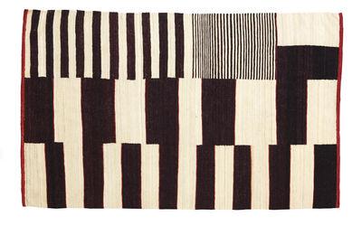 Arredamento - Tappeti  - Tappeto Medina - modello n° 1 - 170 x 240 cm di Nanimarquina - Marrone & bianco - Lana