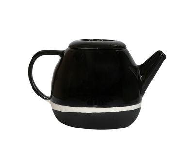 Théière Sicilia / Ø 15 x H 14 cm - Maison Sarah Lavoine radis noir en céramique