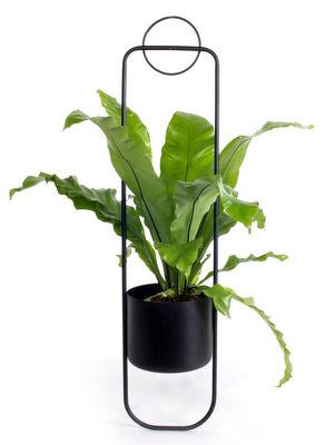 Outdoor - Vasi e Piante - Vaso sospeso Sonar / Metallo - H 105 cm - XL Boom - Nero - Acier laqué époxy