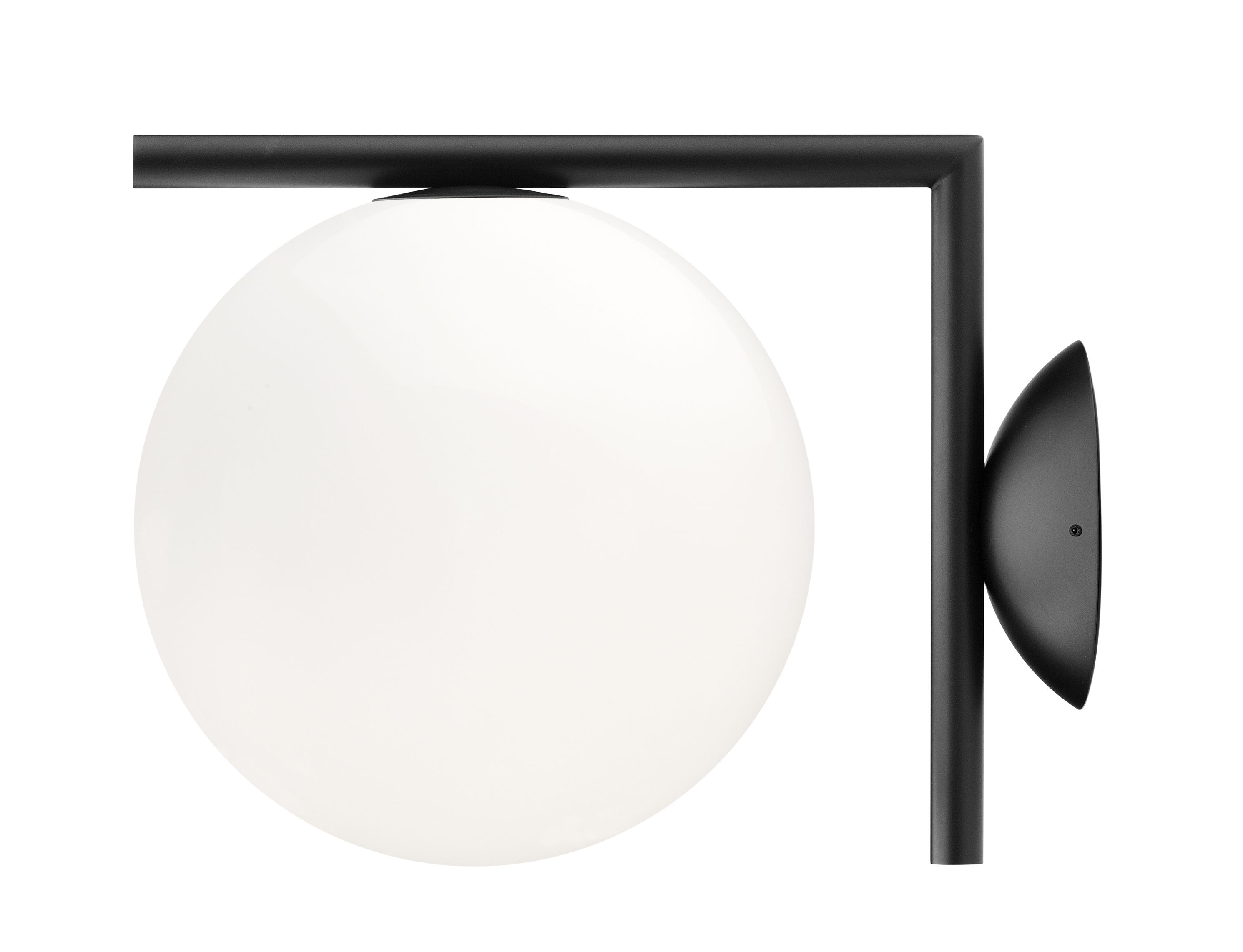 Applique ic w flos nero h Ø made in design