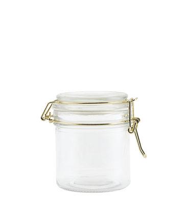 Cuisine - Boîtes, pots et bocaux - Bocal hermétique Vario / 250 ml - Ø 8 x H 10 cm - House Doctor - 250 ml - Métal, Verre
