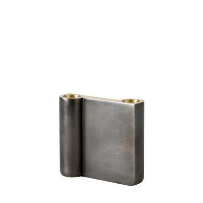 Déco - Bougeoirs, photophores - Chandelier SC39 / H 10 cm - Fonte de laiton - &tradition - H 10 cm / Bronze patiné - Fonte de laiton