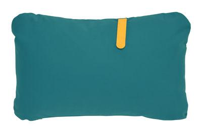 Coussin d'extérieur Color Mix / 68 x 44 cm - Fermob miel,bleu goa en tissu