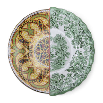 Tableware - Plates - Hybrid Sravasti Dessert plate - / Ø 20 cm by Seletti - Sravasti - China