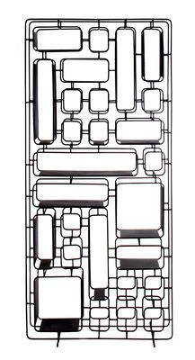 Etagère Project H. / Métal -  L 75 x H 165 cm - XL Boom noir en métal