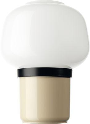 Lampe de table Doll / H 22 cm - Foscarini ivoire en verre
