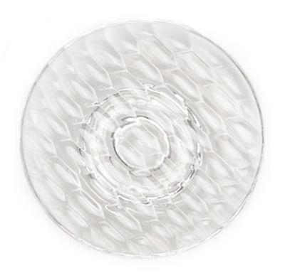 Patère Jellies Family L Ø 19 x H 7 cm Kartell cristal en matière plastique