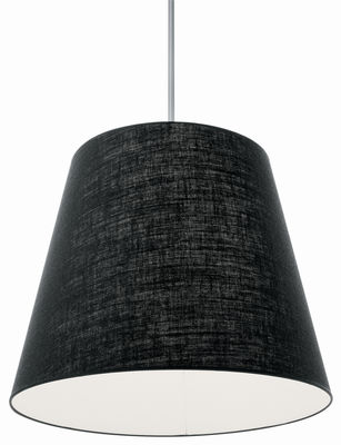 Lighting - Pendant Lighting - Gilda Pendant by Pallucco - Black juta - Hessian