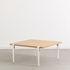 Pied avec fixation étau / H 43 cm - Pour créer tables basse & banc - TipToe