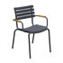 ReCLIPS Stackable armchair - /Bamboo armrests - Recycled plastic by Houe