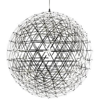 Suspension Raimond LED / Ø 163 cm - Moooi métal brillant en métal