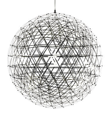 Suspension Raimond LED / Ø 163 cm - Moooi métal brillant en métal