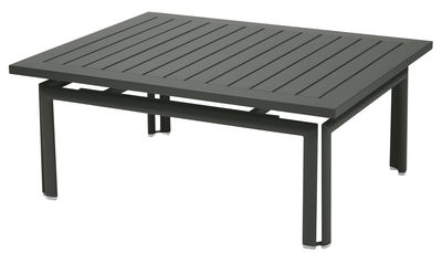 Table basse Costa / Aluminium - 100 x 80 cm - Fermob romarin en métal
