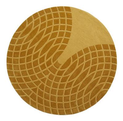 Grande Teppich / Ø 220 cm - Panton 1965 - Verpan - Gelb