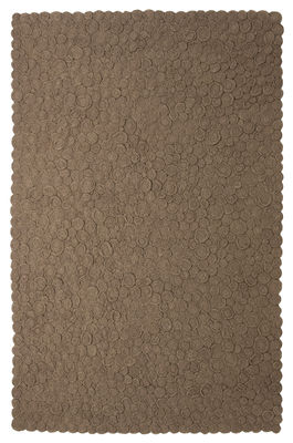 Möbel - Teppiche - Spiral Teppich 170 x 240 cm - Nanimarquina - Braun / 170 x 240 cm - Wolle