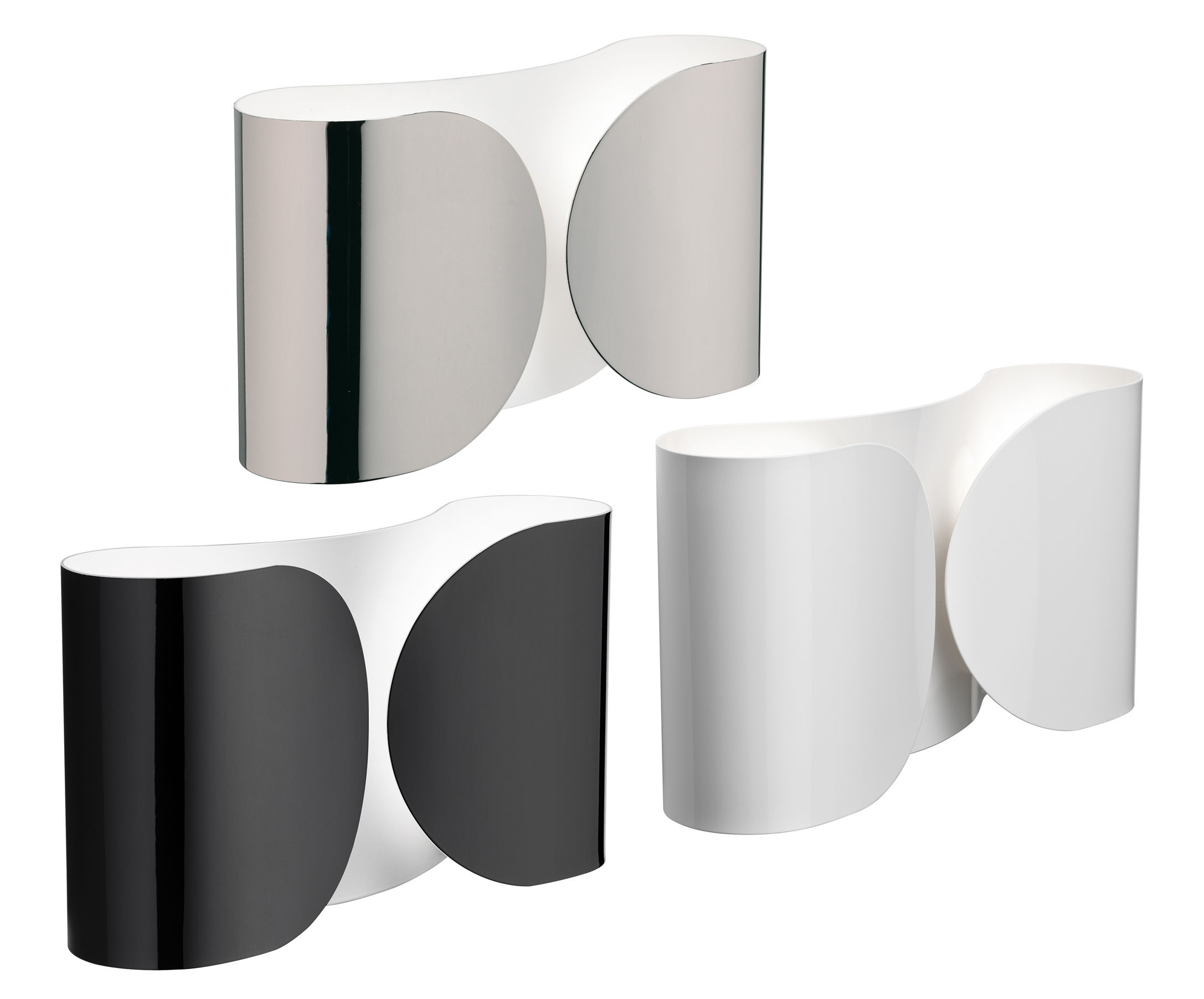 Foglio wall light white by flos made in design uk