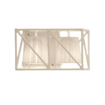 Applique Multilamp / L 38 cm - Seletti blanc en métal