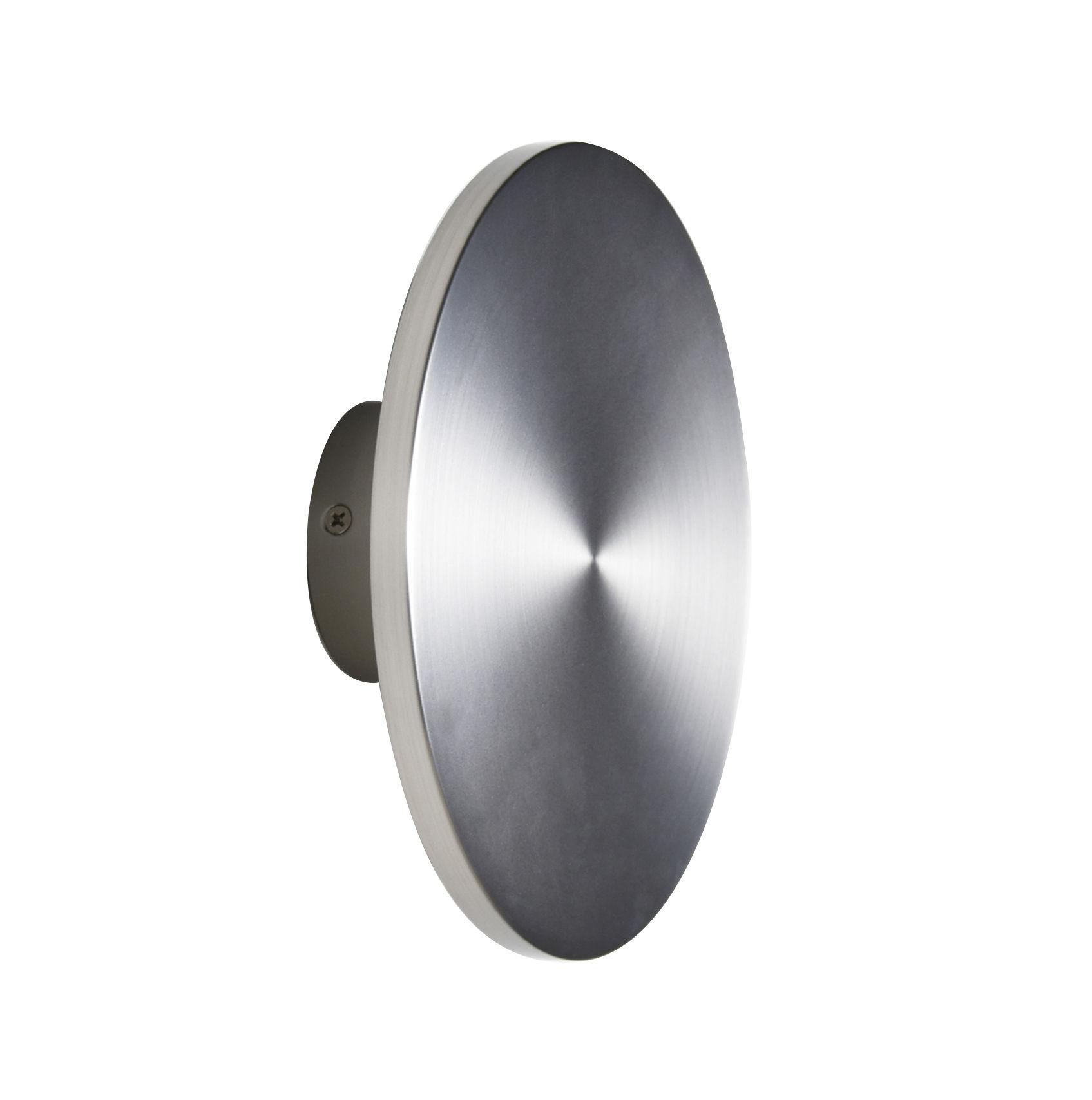 Luminaire - Appliques - Applique Zenith Medium / LED - Ø 20 cm - Métal - ENOstudio - Argent - Acier inoxydable
