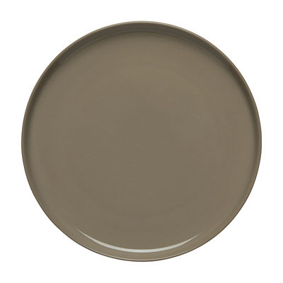 Arts de la table - Assiettes - Assiette à dessert Oiva / Ø 20 cm - Marimekko - Oiva / Beige Terre - Grès