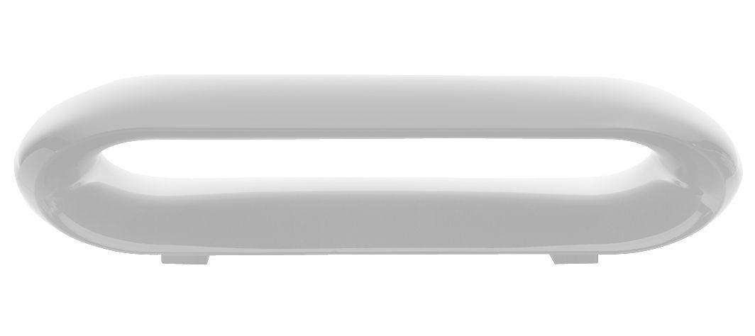 Möbel - Bänke - Loop Bank lackiert - Serralunga - Weiß lackiert - Polypropylen
